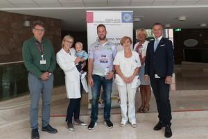 Dobrodelni izziv Tiborja Pranjića za otroke Pediatrične klinike